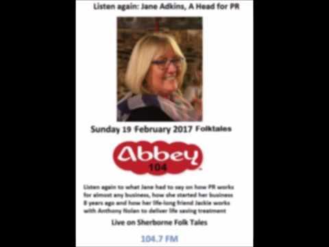 Jane Adkins on Abbey FM 19 Feb 2017