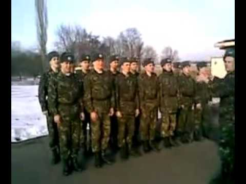 Поздравление с днём рождения по армейски!