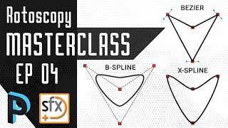 When to Use Bezier, B-spline & X-spline - Silhouette FX Rotoscopy Masterclass - EP 04 [HINDI]
