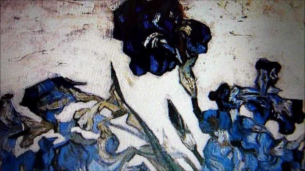 Comment Reproduire Les Couleurs Palette De Van Gogh Pour Les Iris