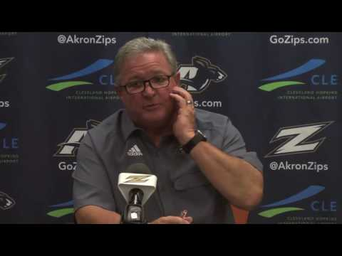 Akron Zips Football: Terry Bowden Press Conference (Sept. 13, 2016)