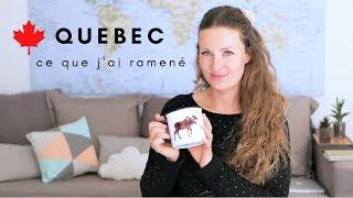 Haul #41 l Ce que j'ai ramené du Québec l Canada