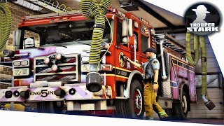 Video GTA 5 RP | SA'F FD #1 | Stark's First Day In The Fire Department download MP3, 3GP, MP4, WEBM, AVI, FLV Juli 2018