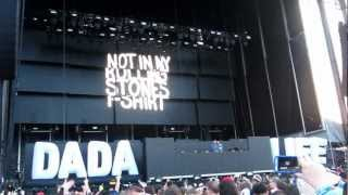 "Dada Life spinning ""Rolling Stones Tee Shirt"" LIVE at Electric Zoo 2012"