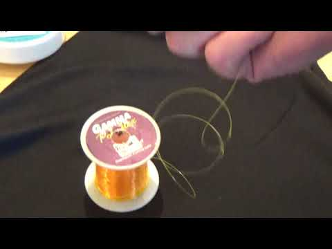 How To Tie Lead Core To Monofilament Using The VQ Knot