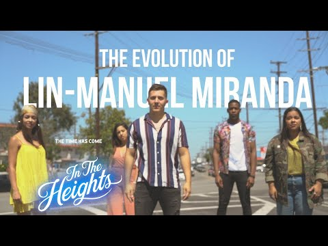 Evolution Of LinManuel Miranda