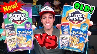 NEW VS OLD POKEMON MYSTERY BOXES FROM WALMART! (Opening BOTH!)