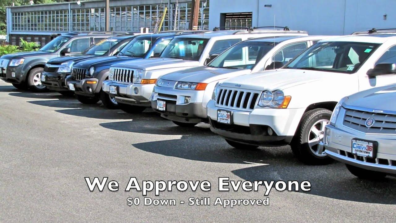 Bad Credit Auto Loan NJ No Money Down Auto Loan Drive Today