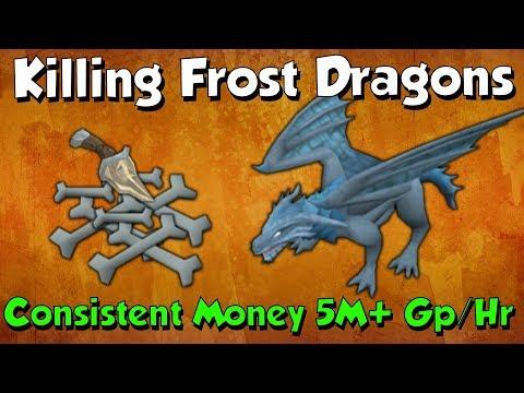 5-7M Gp/Hr! Frost Dragons [Runescape 3] Utilising the Bonecrusher Upgrade!