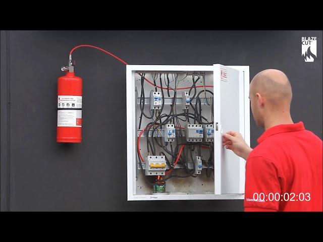 Filiz Güvenlik A.Ş - FM-200 Pano İçi Söndürme Sistemi