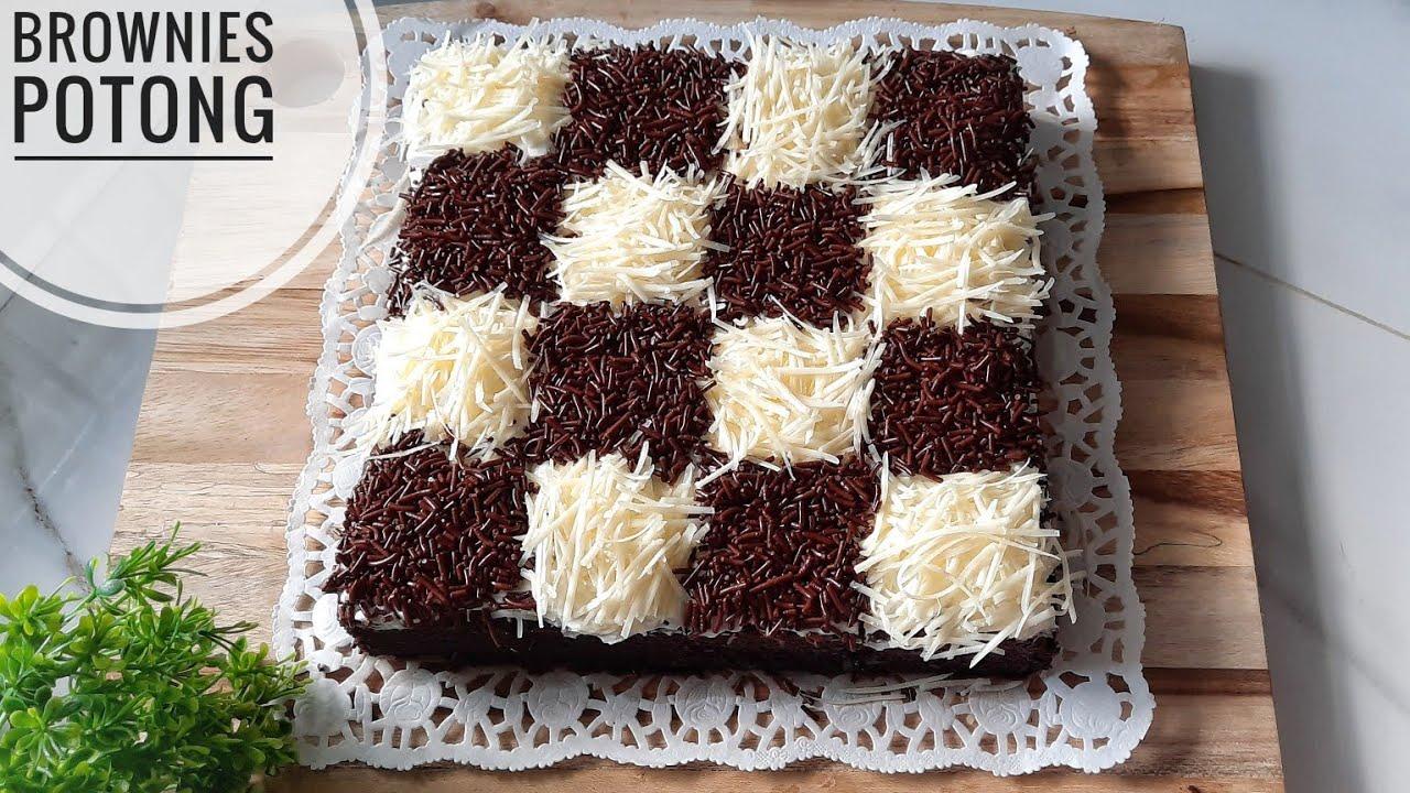 Brownies Kukus Super Lembut Brownies Potong Youtube