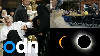 Video Top 3 videos: Solar Eclipse, King Richard III's remains and Pope mobbed by nuns download MP3, 3GP, MP4, WEBM, AVI, FLV Juli 2018