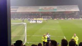 Cardiff City Football Club Tribute to Jeff Richards
