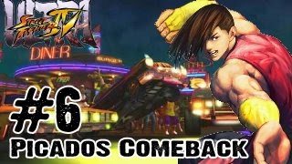 Ultra Street Fighter 4 - Gameplay Multiplayer Part 6 - Picados Comeback (Xbox 360, PS3, PC)