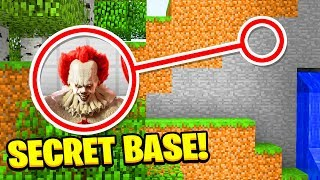 WE FOUND PENNYWISE'S SCARY **SECRET** BASE!(Ps3/Xbox360/PS4/XboxOne/PE/MCPE)