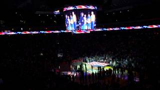 Bill Walton Sings National Anthem at Warriors Game