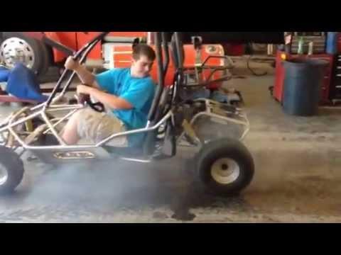 Helix 150cc burnout