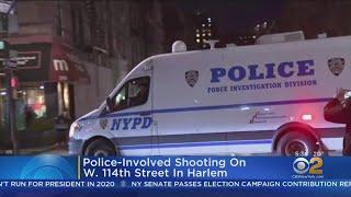 Harlem Police-Involved Shooting Under Investigation