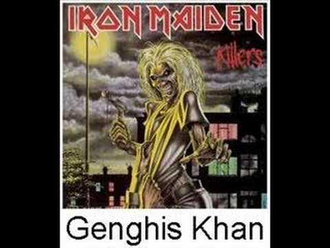 Iron Maiden Genghis Khan