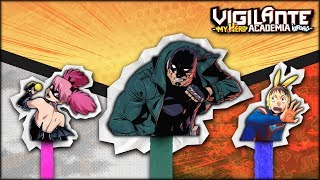 Who Are The Vigilantes In My Hero Academia? My Hero Academia Vigilantes Explained
