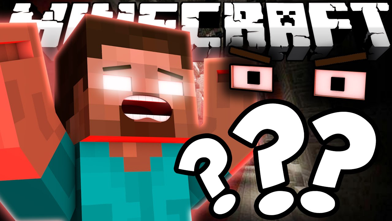 What REALLY Happened To Herobrines Eyes Minecraft YouTube