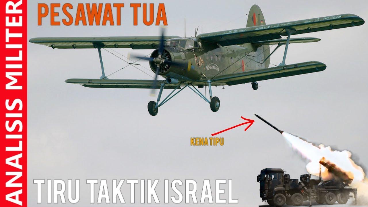 Mirip Taktik Israel, Pesawat Tua Ini Tipu Rudal Canggih Buatan Rusia