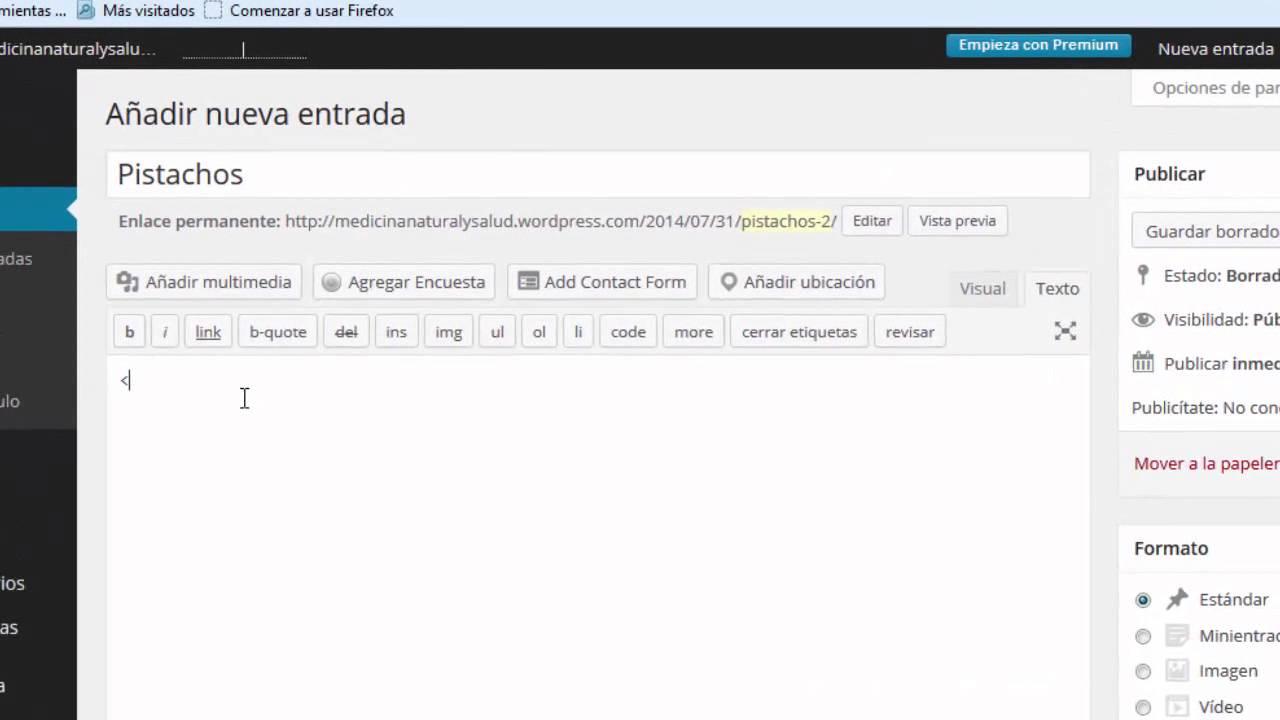 Crear Tabla en Blog Wordpress sin utilizar Plugin - YouTube