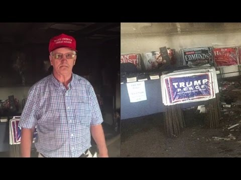 North Carolina GOP Republican Party Headquarters Firebombed; More Violence From The Left (REACTION)