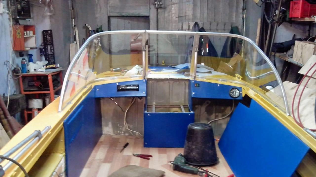 Лодка 44» - Видео инструкция по установке тента - YouTube