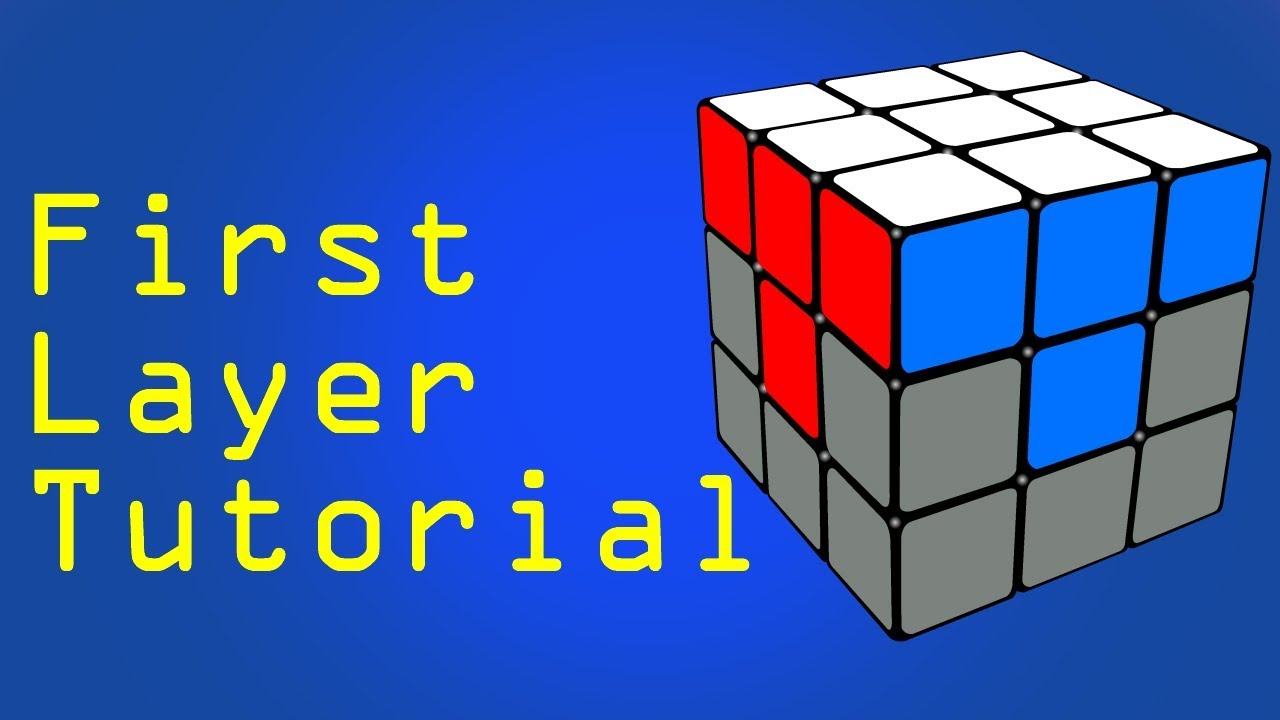 How To Solve The 1st And 2nd Layer Of A Rubik U0026 39 S Cube