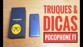 Truques SECRETOS e Dicas para o Smartphone PocoPhone F1 da Xiaomi!