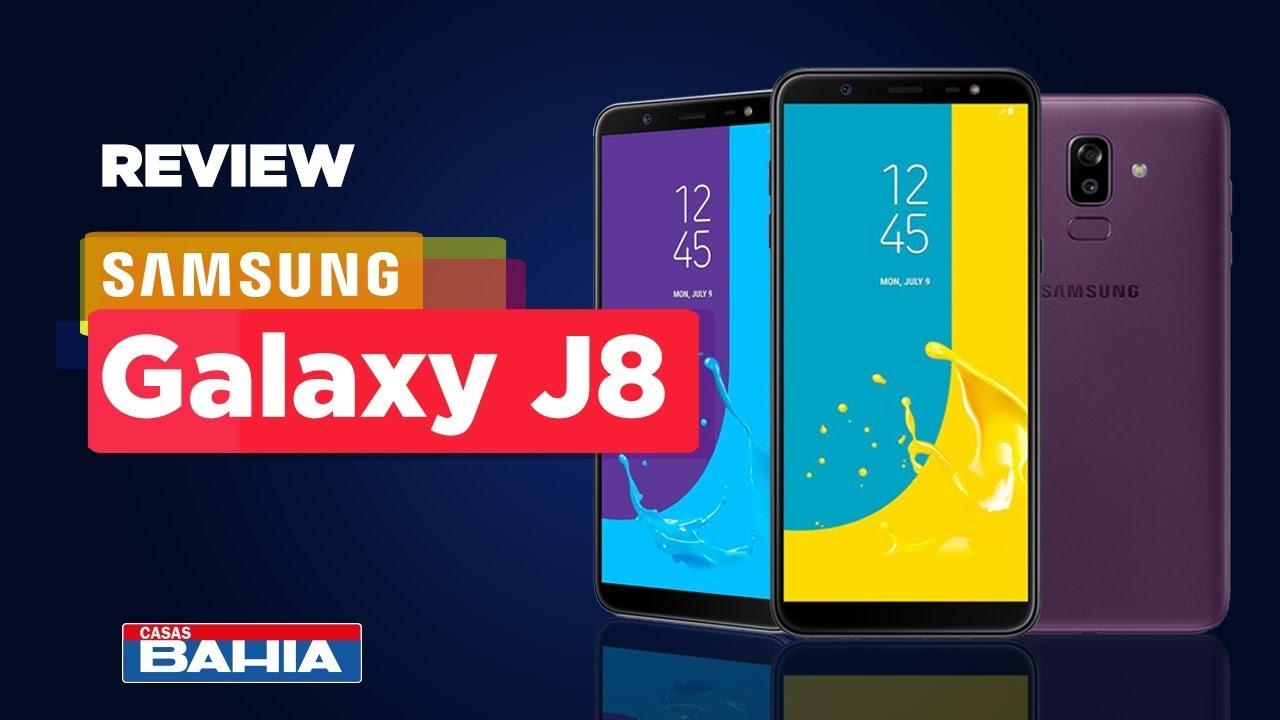 afc8915596 Smartphone Samsung Galaxy J8 4GB RAM, Câmera Traseira Dupla, Câmera Frontal  16MP, Dual Chip, Android 8.0, 64GB, Preto, Tela Infinita de 6,0