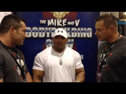 V Bodybuilding Show IFBB Pro Scott Turner in the house at the EUROPA