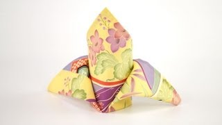 How To Sew A Fabric Napkin With Mitered Corners