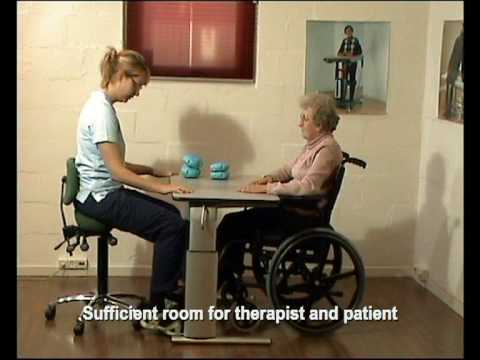 Height Adjustable Tables For Wheelchair Users Youtube