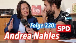 Andrea Nahles (SPD) - Jung & Naiv: Folge 330