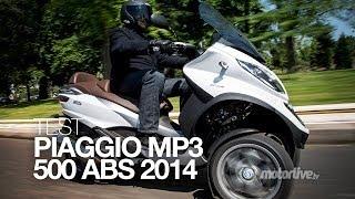 TEST | PIAGGIO MP3 500 LT ABS/ASR 2014, L