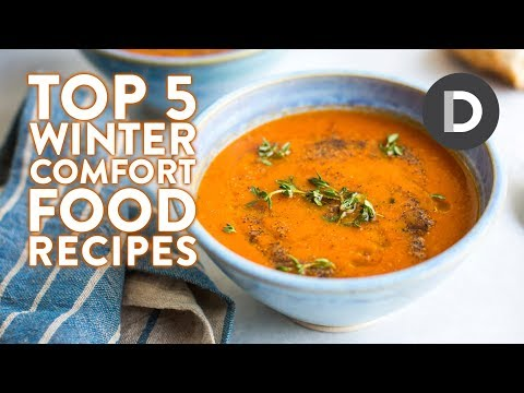 Top 5 X Comfort Food Recipes! WINTER RECIPES!