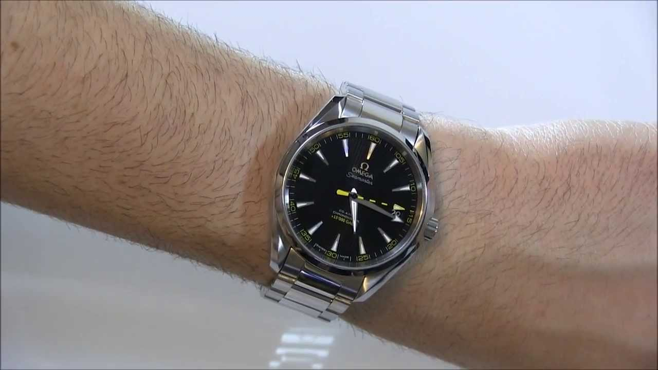 omega seamaster aqua terra james bond limited edition men's watch