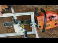 Can You Mill Lumber With A CHEAP 45 cc Chainsaw? YES!!
