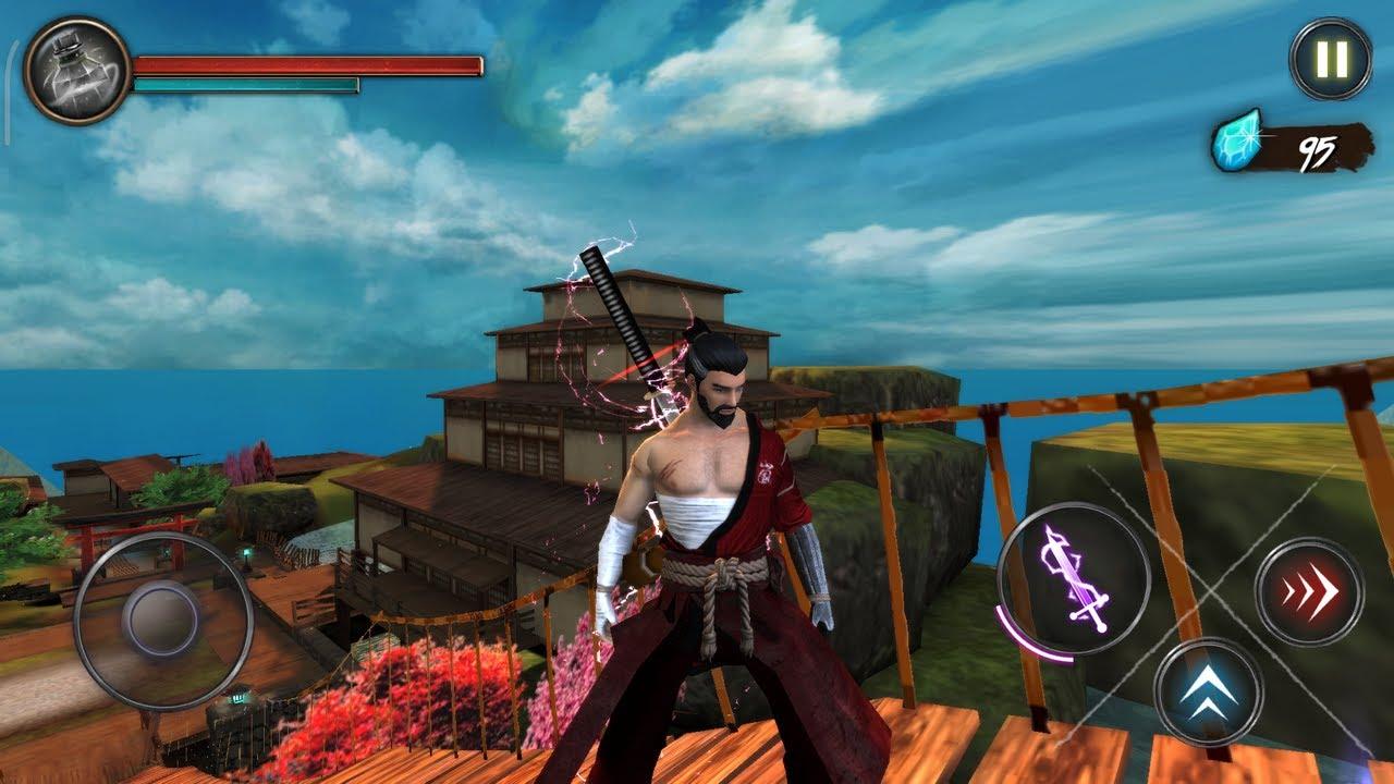 Takashi Ninja Warrior - Shadow of Last Samurai Android Gameplay ...