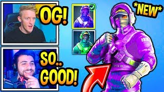 "Streamers React To *NEW* ""OG"" REFLEX Skin Style! (Fortnite Moments)"