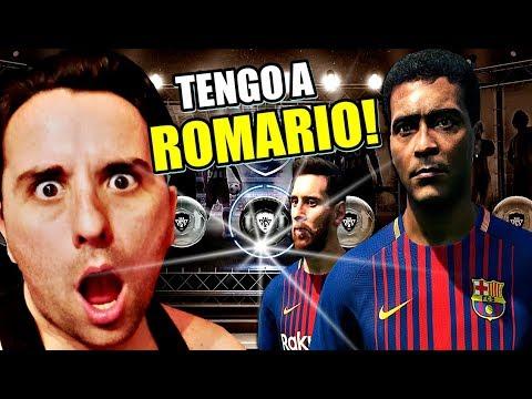 BRUTAL!!!! TENGO A ROMÁRIO!!!!! | PES 2018