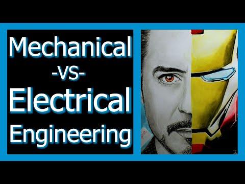 Mechanical Engineering VS Electrical Engineering, How to Choose Engineering Major