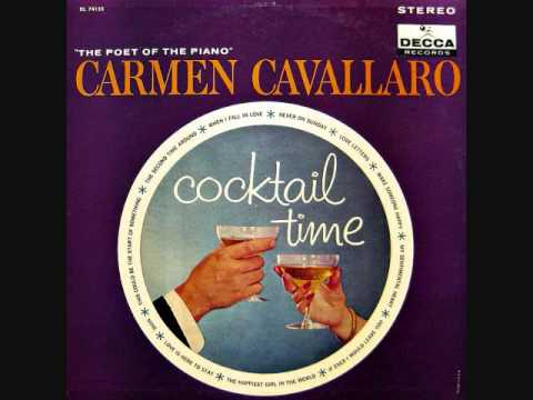 Carmen Cavallaro - Cocktail Time (1961)  Full vinyl LP