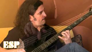 ESP Guitars: Frank Bello (Anthrax) Interview 2012 Part 1/2