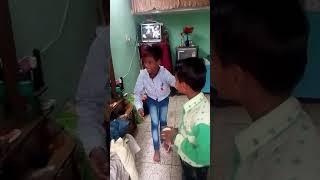 Magic with glass funny video  Nitin Jaadugar