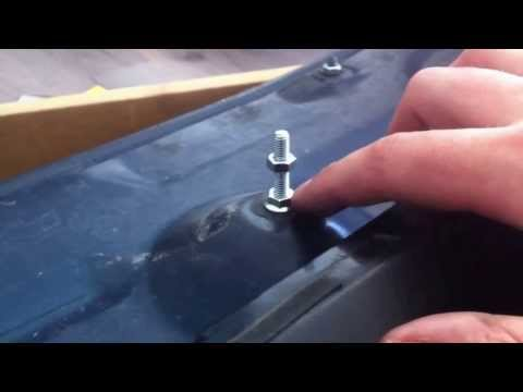 How to set higher the rear wing spoiler on Honda Civic 96-00