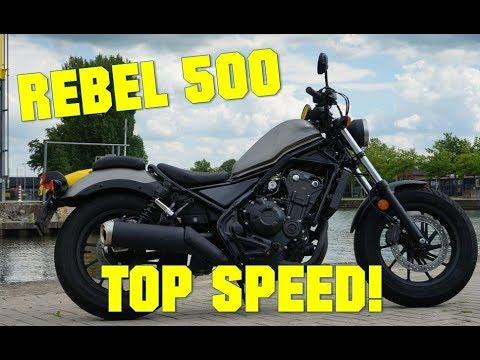 2020 Honda Rebel Top Speed.Honda Rebel 500 Top Speed