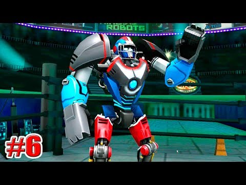 ВЫПАЛ НОВЫЙ РОБОТ!!! TOUCHDOWN Real Steel World Robot Boxing (ЖИВАЯ СТАЛЬ) (6 серия)